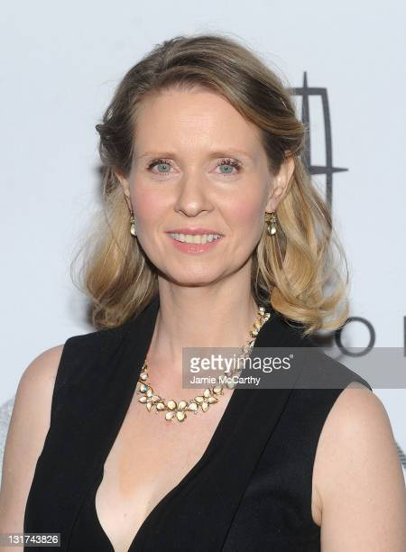 Cynthia Nixon attends the 15th Annual ACE Awards at Cipriani 42nd Street on November 7 2011 in New York City