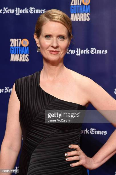 Cynthia Nixon attends the 2017 IFP Gotham Awards at Cipriani Wall Street on November 27 2017 in New York City