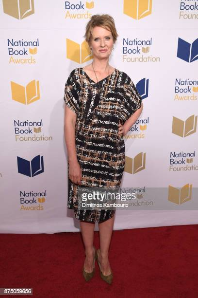 Cynthia Nixon attends the 68th National Book Awards at Cipriani Wall Street on November 15 2017 in New York City