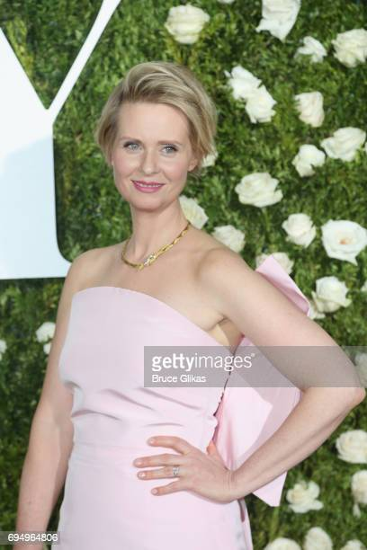 Cynthia Nixon attends the 71st Annual Tony Awards at Radio City Music Hall on June 11 2017 in New York City