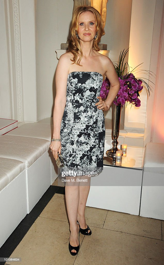 Cynthia Nixon attends the afterparty following the UK film premiere of 'Sex and the City 2' at The Kensington Palace on May 27, 2010 in London, England.
