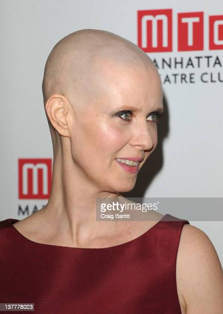 Cynthia Nixon attends the opening night after party for 'Wit' at the BB King Blues Club Grill on January 26 2012 in New York City