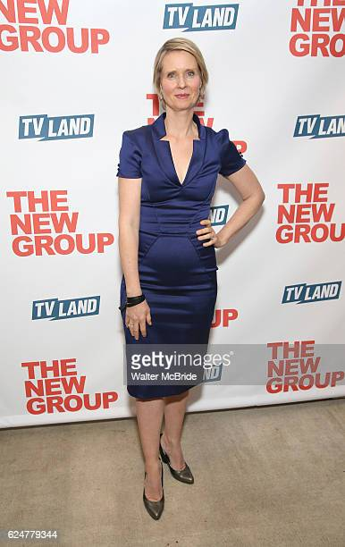 Cynthia Nixon attends the Opening Night Party for The New Group Production of 'Sweet Charity' at The Lindeman on November 20 2016 in New York City
