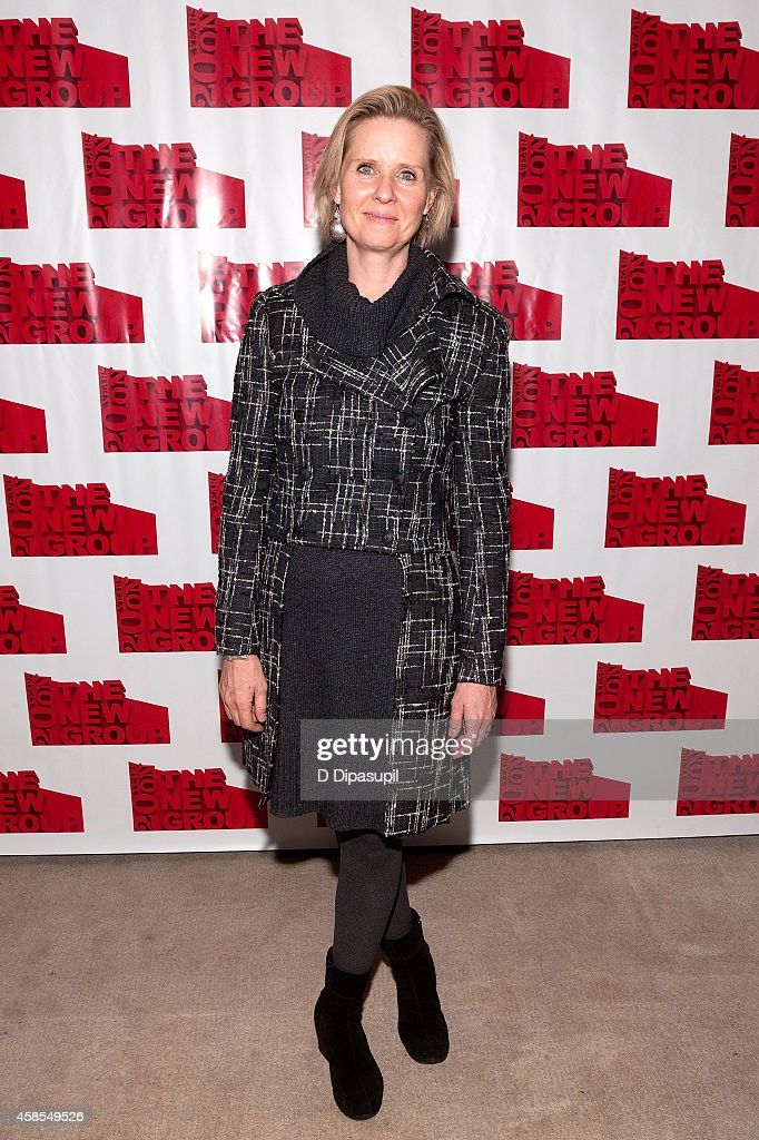 Cynthia Nixon attends the 'Sticks and Bones' opening night after party at KTCHN Restaurant on November 6, 2014 in New York City.