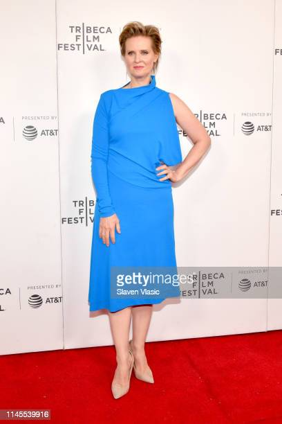"""Cynthia Nixon attends the """"Stray Dolls"""" screening during the 2019 Tribeca Film Festival at Village East Cinema on April 27, 2019 in New York City."""