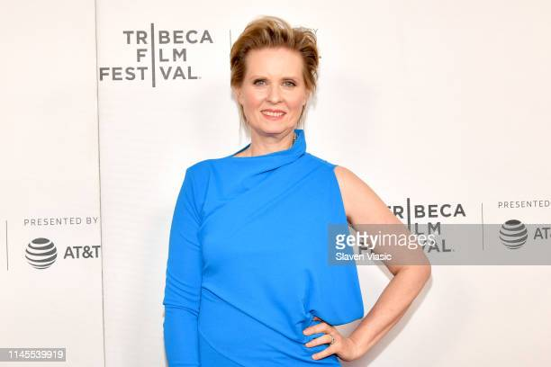 Cynthia Nixon attends the Stray Dolls screening during the 2019 Tribeca Film Festival at Village East Cinema on April 27 2019 in New York City