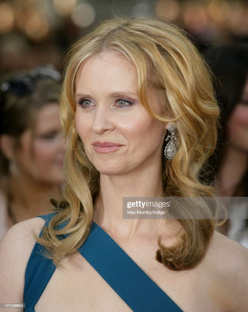 Cynthia Nixon attends the UK premiere of Sex And The City 2 at Odeon Leicester Square on May 27, 2010 in London, England.