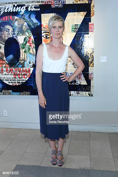 Cynthia Nixon attends W Magazine NKPR IT House x Producers Ball Studio IT Lounge on September 12 2016 in Toronto Canada