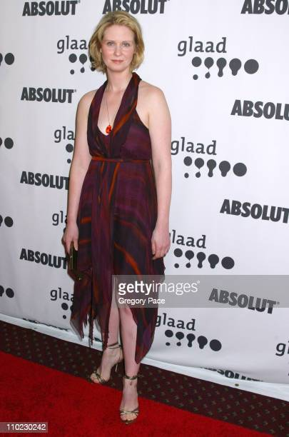 Cynthia Nixon during 16th Annual GLAAD Media Awards Arrivals at Marriott Marquis in New York City New York United States