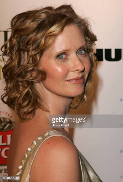 Cynthia Nixon during 2005 Toronto Film Festival HD Net Films Party at Premiere Lounge at Club Monaco in Toronto Canada