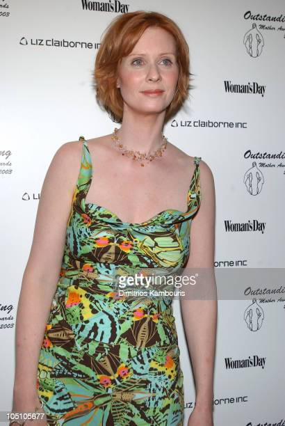 Cynthia Nixon during 25th Annual Outstanding Mother Awards Luncheon at Marriott Marquis Hotel in New York City New York United States