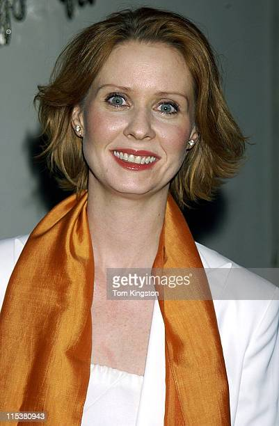 Cynthia Nixon during 54th Annual Writers Guild of America East Awards at Pierre Hotel in New York City New York United States