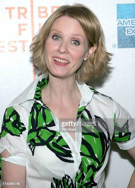 Cynthia Nixon during 5th Annual Tribeca Film Festival Magnolia Pictures/HDNET Films One Last Thing Premiere at AMC Loews Lincoln Square The Premiere...