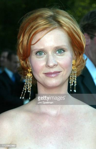Cynthia Nixon during HBO's Sex and the City Fifth Season World Premiere at American Museum of Natural History in New York City New York United States