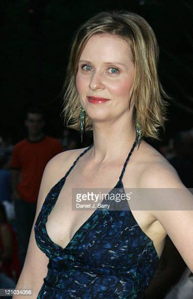 Cynthia Nixon during Little Manhattan Premiere at the 3rd Annual Central Park Film Festival Closing Night at Central Park in New York City New York...