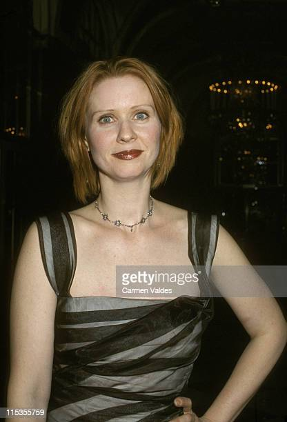 Cynthia Nixon during Museum of TV and Radio's Gala Celebration of NY on TV and Radio at WaldorfAstoria in New York City New York United States