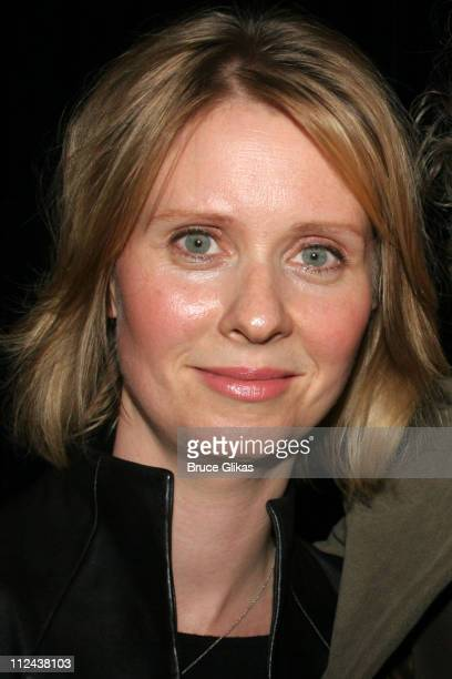 Cynthia Nixon during New York Casting Society of America 21st Annual Artio's Awards at American Airlines Theater Penthouse in New York City New York...