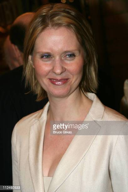 Cynthia Nixon during Opening Night for John Patrick Shanley's 'Doubt' on Broadway at The Walter Kerr Theater and The Supper Club in New York City New...