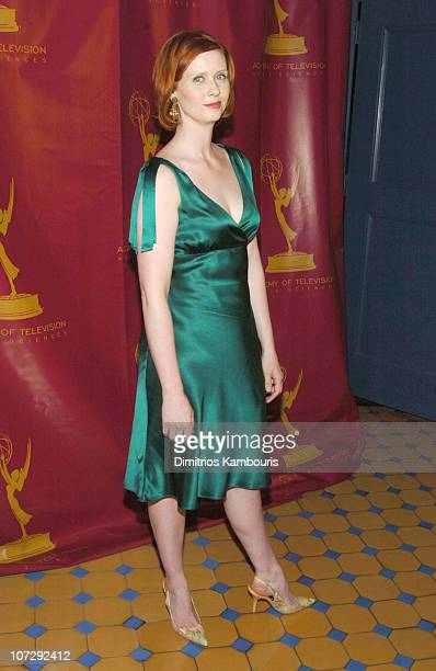 Cynthia Nixon during The Acadamy Of Arts Sciences Presents Behind the Scenes of 'Sex and the City' at The Puck Building in New York City New York...