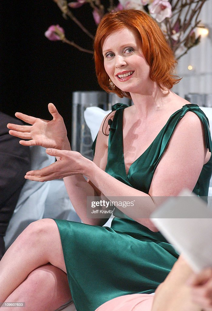 The Acadamy Of Arts & Sciences Presents - Behind the Scenes of Sex and the City - Taping : News Photo