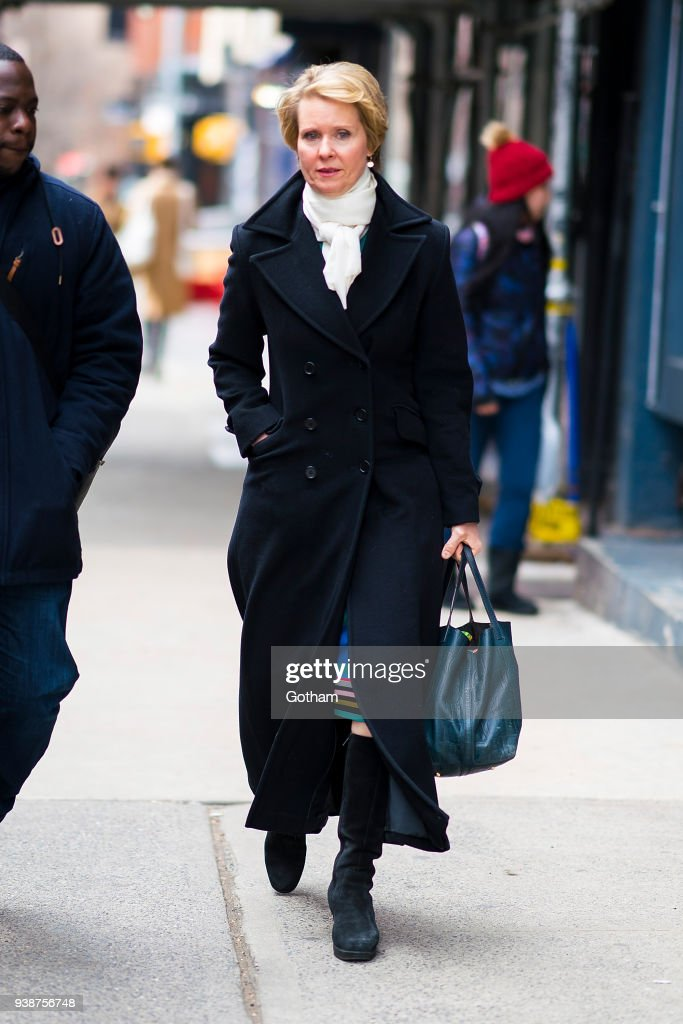 Celebrity Sightings in New York City - March 27, 2018 : News Photo