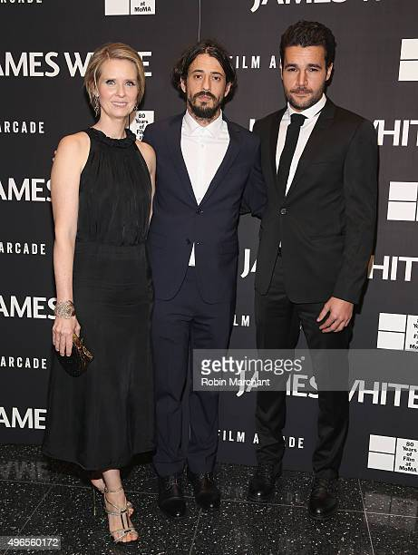 Cynthia Nixon Josh Mond and Christopher Abbott attend Opening Night Of MOMA's Eighth Annual Contenders Featuring The Film Arcade's JAMES WHITE on...