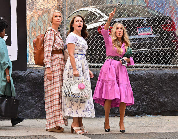 NY: Celebrity Sightings In New York City - July 20, 2021