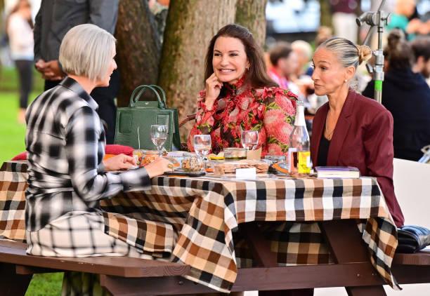 NY: Celebrity Sightings In New York City - September 20, 2021