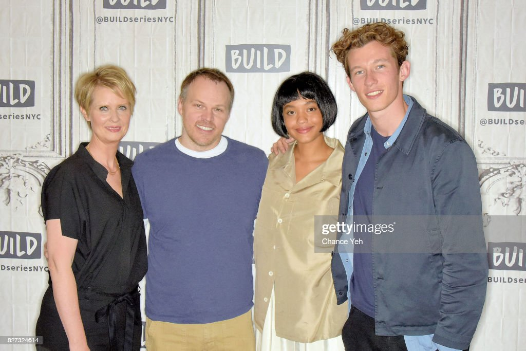"""Build Presents The Cast Of """"The Only Living Boy In New York"""" : News Photo"""