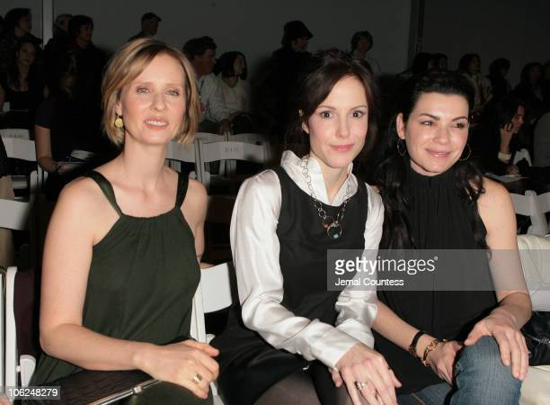 Cynthia Nixon Mary Louise Parker and Julianna Margulies