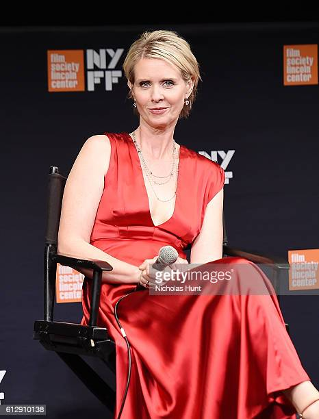 Cynthia Nixon Speaks at the 54th New York Film Festival A Quiet Passion Intro and QA at The Film Society of Lincoln Center Walter Reade Theatre on...