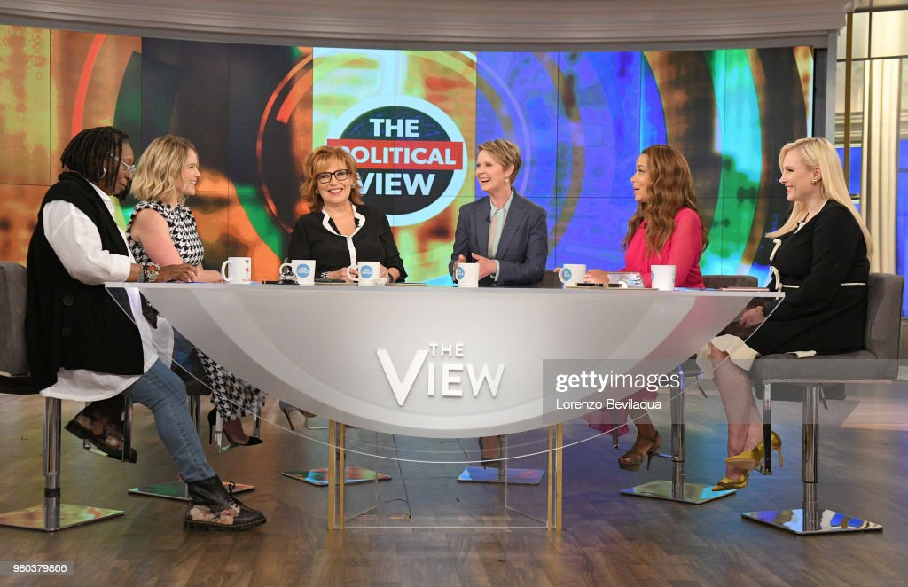 THE VIEW - Cynthia Nixon visits 'THE VIEW,' 6/21/18 (11:00 a.m. - 12:00 noon, ET) airing on the ABC Television Network. MCCAIN