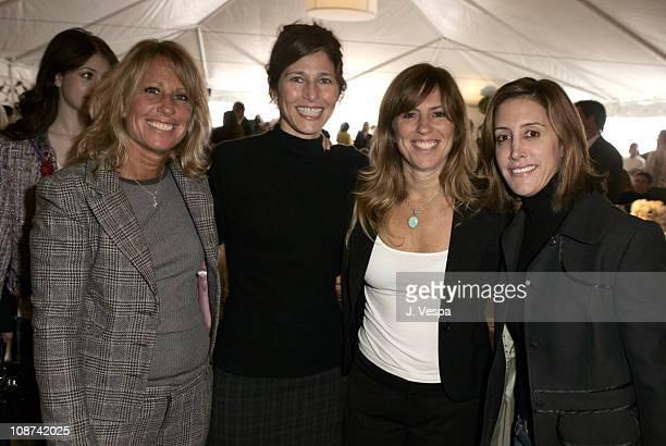 Cynthia Pett Dante, Catherine Keener, Andrea Pett Joseph and Leslie Siebert
