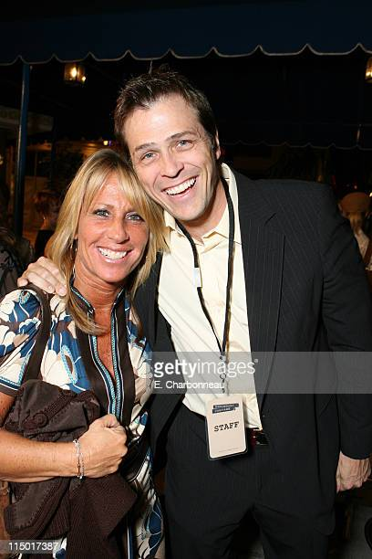 Cynthia PettDante and Patrick Whitesell during Special Presentation of Paramount Vantage's Babel at Mann Village Theatre in Westwood CA United States