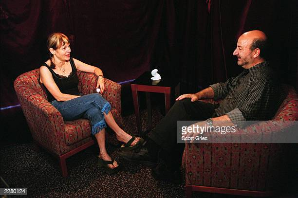 Cynthia Plaster Caster at an interview in New York City 6/29/00Photo Scott Gries/ImageDirect