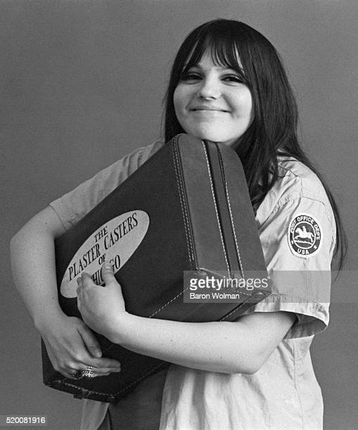 Cynthia Plaster Caster poses for a portrait at the Michael Mauney Studio in Chicago IL January 1969
