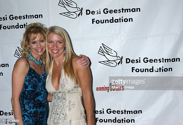 Cynthia Preston and Alicia Leigh Willis during Evening with the Stars to Benefit The Desi Geestman Foundation at Club Ivar in Hollywood California...