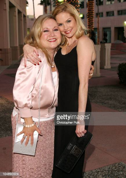 Cynthia Preston and designer Lori Robinson during ATAS Hosts a StarStudded Fashion Show to Benefit Dress for Success at ATAS' Leonard H Goldenson...