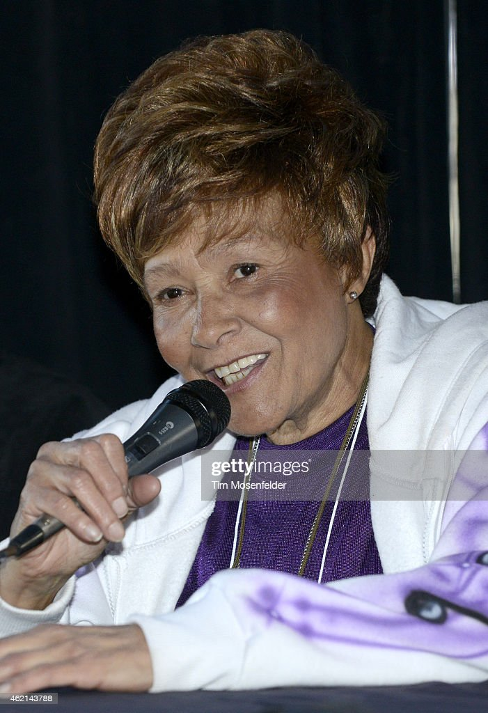 Cynthia Robinson attends 'Love City' A Convention Celebrating Sly and The Family Stone on January 24, 2015 in Oakland, California.