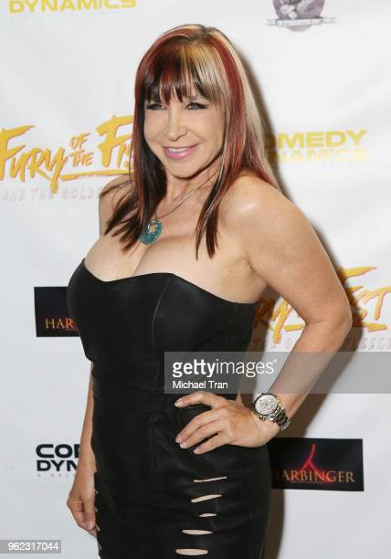 Cynthia Rothrock attends the Los Angeles premiere of Comedy Dynamics' The Fury Of The Fist And The Golden Fleece held at Laemmle's Music Hall 3 on...
