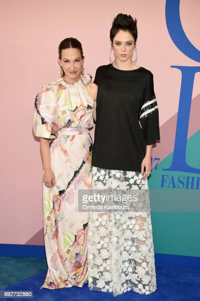 Cynthia Rowley and Coco Rocha attend the 2017 CFDA Fashion Awards at Hammerstein Ballroom on June 5 2017 in New York City