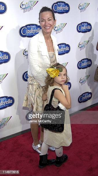 "Cynthia Rowley and Daughter during Swiffer Wetjet Presents the ""Cinderella"" DVD Release and Royal Ball - Red Carpet at Ziegfeld Theatre in New York..."