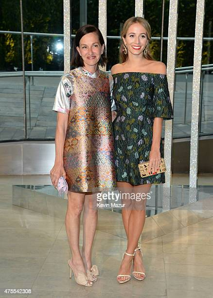 Cynthia Rowley and Harley VieraNewton attend the 2015 CFDA Fashion Awards at Alice Tully Hall at Lincoln Center on June 1 2015 in New York City