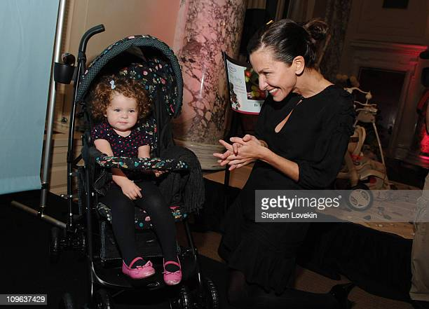 806664ff35f Cynthia Rowley and her daughter Gigi during Graco Children's Products and  Design Icon Cynthia Rowley will