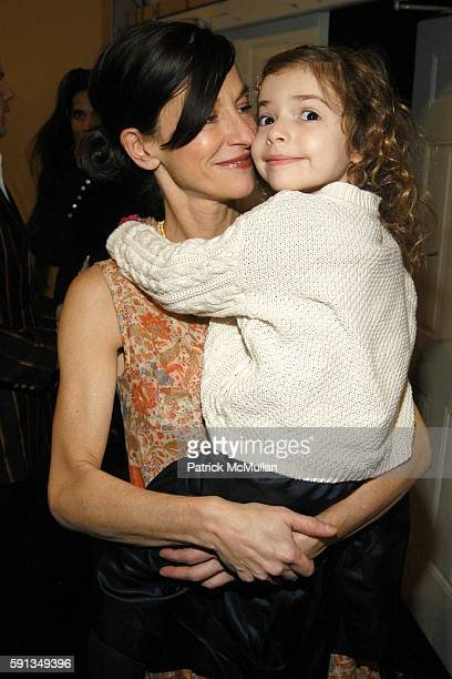 Cynthia Rowley and Kit Rowley attend Cynthia Rowley Camp Rowley Fall 2005 Collection Fashion Show at The Atelier Tent on February 9 2005 in New York...