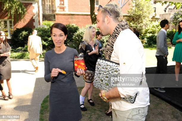 Cynthia Rowley and Micah Jesse attend Cynthia Rowley Summer/Spring 2011 Reception With Johnson Johnson at Cooper Hewitt Museum on September 11 2010...