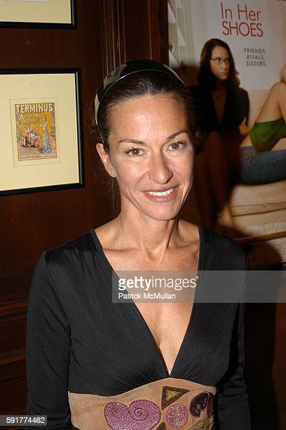 Cynthia Rowley attends A Private Screening of FOX 2000 PICTURES New Release In Her Shoes at La Goulue on October 2 2005 in New York City