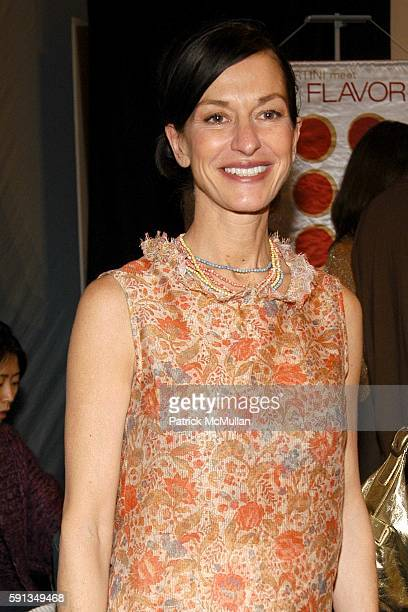 Cynthia Rowley attends Cynthia Rowley Camp Rowley Fall 2005 Collection Fashion Show at The Atelier Tent on February 9 2005 in New York City