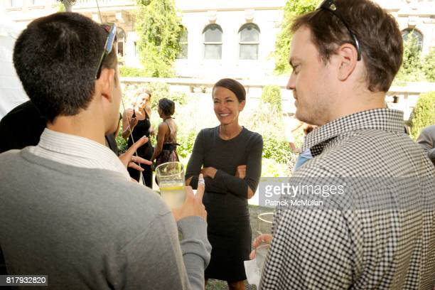 Cynthia Rowley attends Cynthia Rowley Summer/Spring 2011 Reception With Johnson Johnson at Cooper Hewitt Museum on September 11 2010 in New York City