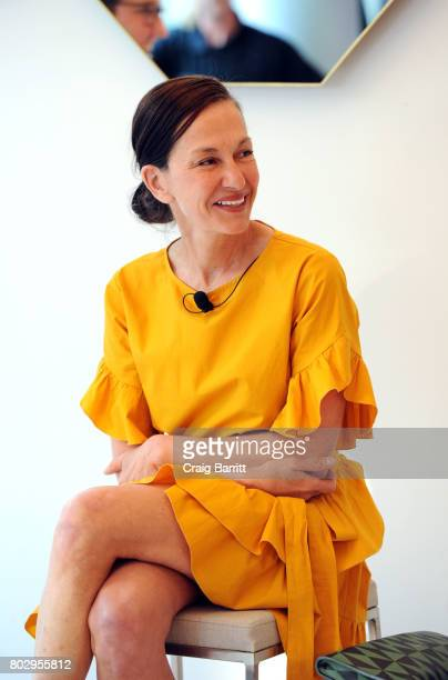 Cynthia Rowley attends Surface Magazine presents Design Dialogues No 37 featuring Cynthia Rowley and Shaun Osher on June 28 2017 in New York City